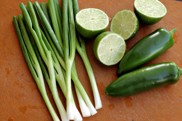Mexican Roadside Chicken With Green Onions Recipe — Dishmaps