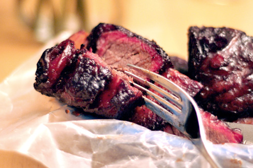 Big Bold Barbecued Beef Short Ribs