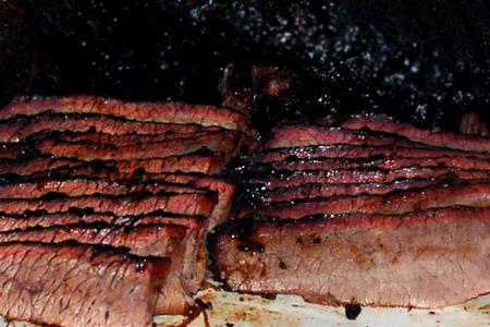 Hot & Fast BBQ Beef Brisket