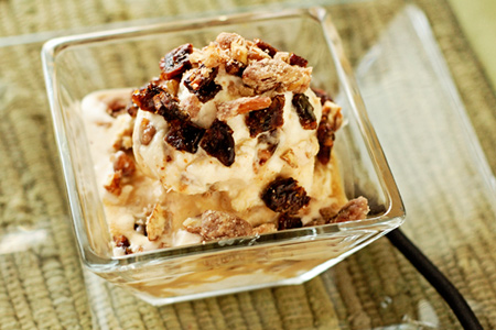 Candied Bacon & Praline Ice Cream