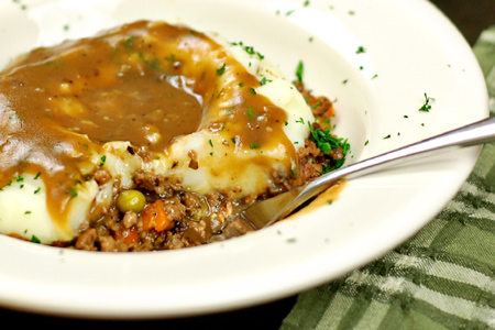 Shepherd's Pie with Porter & Shallot Gravy