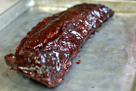 Sweet Spicy & Sticky Asian Ribs (via patiodaddiobbq.com)