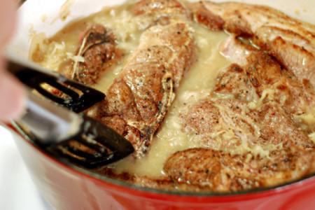Sauerkraut & Pork