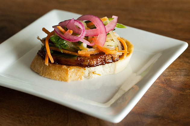 Mini Bahn Mi Sandwiches (via patiodaddiobbq.com)