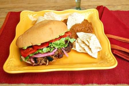 Pork Torta
