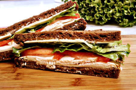A Simple Pleasure: The Turkey Sandwich