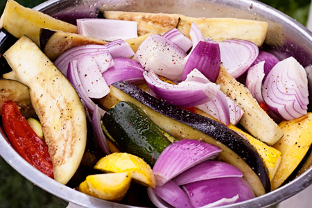 Grilled Ratatouille (via patiodaddiobbq.com)