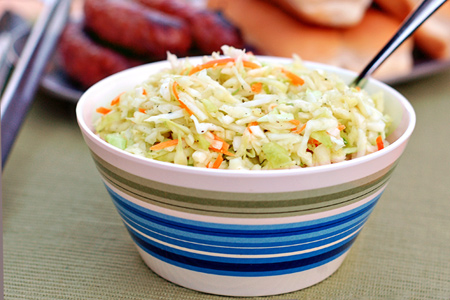Sweet, Tangy & Crunchy Slaw