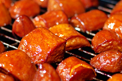 Barbecued Sweet Potatoes