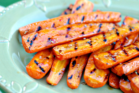 Grilled & Glazed Carrots