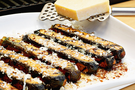 Grilled Zucchini Fries