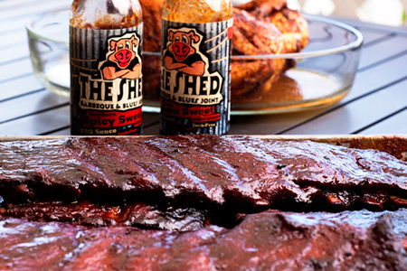 Review: The Shed Barbecue Sauces (via patiodaddiobbq.com)