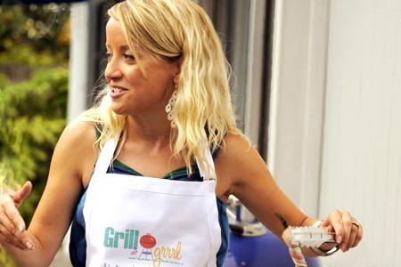 Grill Girl Robyn Medlin