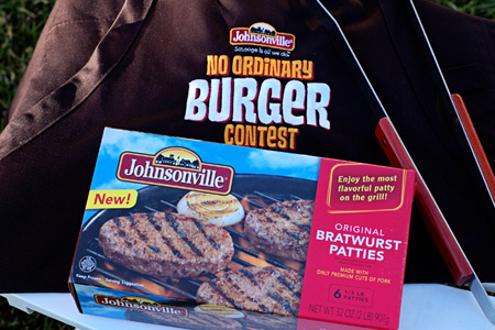 Johnsonville's No Ordinary Burger Contest