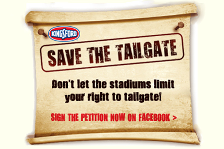 Help Kingsford Save The Tailgate